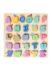 26-Piece Set 3D Alphabet Puzzle