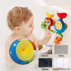 Caterpillar Bath Toy, Multicolor