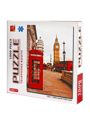 1000-Piece Set London Telephone Booth Puzzle
