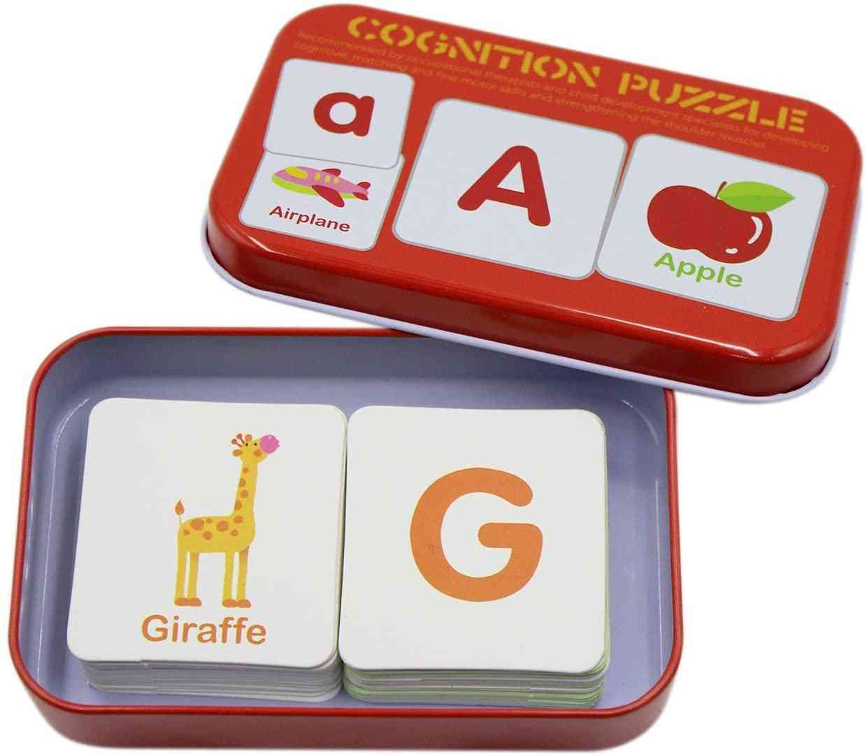 30-Piece Set Cognitive Puzzle, Red