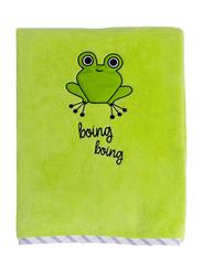 Milk&Moo Cacha Frog Baby Blanket, Newborn, Green