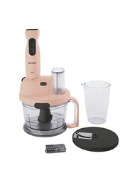 Arcelik Grater Stainless Steel Hand Blender, 1000W, RHB 3910 P, Pink/Black/Clear