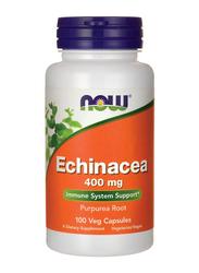 Now Echinacea Purpurea Root Dietary Supplement, 400mg, 100 Capsule