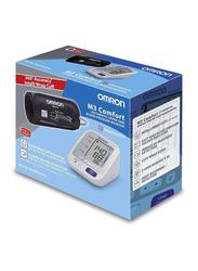 Omron M3 Comfort Blood Pressure Monitor, White/Black