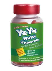 Yaya Multi + Minerals Supplement, 60 Gummies
