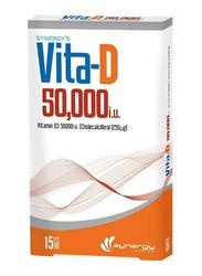 Synergy Vita-D Supplement, 50000iu, 15 Tablets