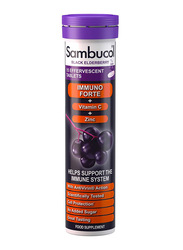 Sambucol Natural Black Elderberry Food Supplement, 15 Effervescent Tablets
