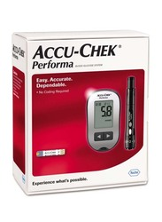 Accu-Chek Performa Blood Glucose Monitor, Black