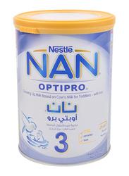 Nestle NAN Optipro Stage 3 Growing Up Formula Milk, 1-3 Years, 400g