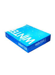 Winter Photocopy Paper Ream, 5 x 500 Sheets, 80 GSM, A4 Size