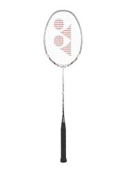 Yonex Nanoray 70DX Badminton Racket, White/Black/Red