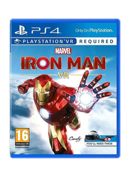Marvel Iron Man VR Video Game for PlayStation 4 (PS4) by SIE