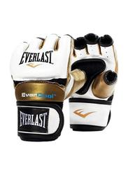 Everlast Small Everstrike Training Gloves for Women, EVP00000661, White/Gold
