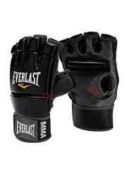 Everlast Free Size MMA Kickboxing Gloves, EVER 4402B, Black