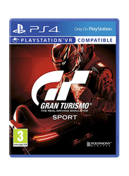 Gran Turismo The Real Driving Simulator Sport Video Game for PlayStation 4 (PS4) by Polyphony Digital