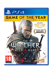 The Witcher 3 Wild Hunt - Game Of The Year Edition Video Game for PlayStation 4 (PS4) by Bandai Namco Entertainment