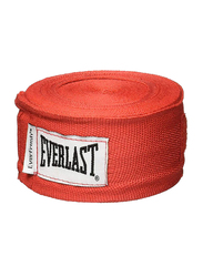 Everlast 108-inch Level 1 Cotton/Polyester Hand Wraps, EVER 4455RP, Red