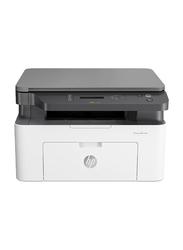 HP LaserJet Multifunction 135A Mono Laser Printer, White/Black