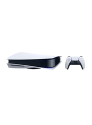 Sony PlayStation 5 Console, International CD Version, 825GB, With 1 Controller, White/Black