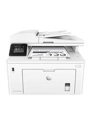 HP LaserJet Pro M227FDW Multifunction Mono Laser Printer, White