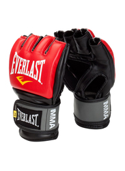 Everlast Pro Style Grappling Gloves, EV7778RLXL, Red/Black