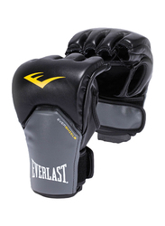 Everlast MMA Powerlock Training Gloves, EVER P00000158, Black/Grey