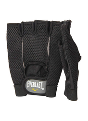Everlast EVER 1085SM Weight Lifting Gloves, Black