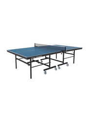 Garlando Club Indoor Table Tennis Table with Wheels, GDC-613i, Blue