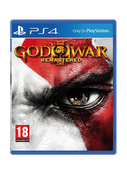 God of War III: Remastered Video Game for PlayStation 4 (PS4) by Sony
