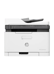 HP LaserJet 179FNW MFP Laser All-in-One Printer, White