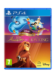 Disney Classic Games: Aladdin and Lion King Video Game for PlayStation 4 (PS4) by Disney
