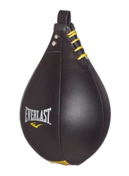Everlast Large Leather Speed Bag, EVER4242, Black