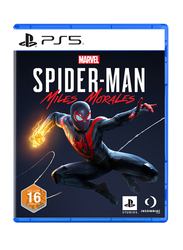 Marvel's Spider Man Miles Morales Video Game for PlayStation 5 (PS5) by Insomniac Games