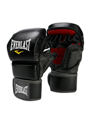 Everlast Grapling Training Gloves, EV7772SM, Black/Red