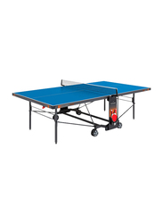 Garlando Champion Outdoor Foldable Table Tennis Table with Wheels, GDC-470EB, Blue