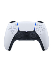 Sony DualSense Wireless Controller for PlayStation PS5, White/Black