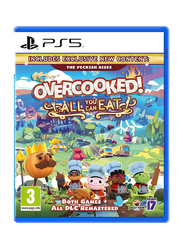 Overcooked All You Can Eat Video Game for PlayStation 5 (PS5) by Team 17 Digital Ltd