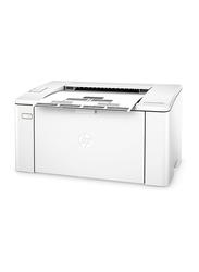 HP LaserJet Pro M102A Laser Printer, White