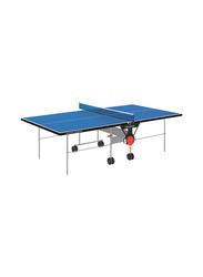 Garlando Master Outdoor Foldable Table Tennis Table with Wheels, GDC-373E, Blue