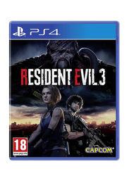 Resident Evil 3 Remake Standard Edition Video Game for PlayStation 4 (PS4) by Capcom