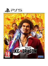 Yakuza Like A Dragon Day Video Game for PlayStation 5 (PS5) by Sega