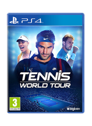 Tennis World Tour Video Game for PlayStation 4 (PS4) by Bigben