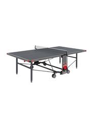 Garlando Premium Outdoor Foldable Table Tennis Table with Wheels, GDC-570E, Grey