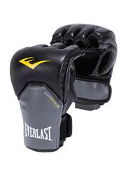 Everlast MMA Powerlock Training Gloves, EVER P00000159, Black/Grey