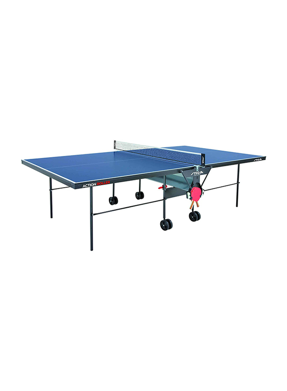 Stiga Action Roller 16mm Indoor Tennis Table, A-110-16, Blue