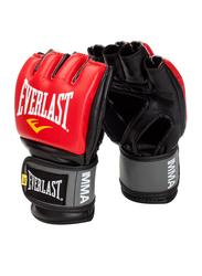 Everlast Pro Style Grappling Gloves, EV7778RSM, Red/Black