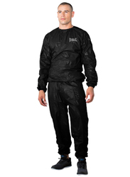 Everlast L/XL Eva Fit Sauna Suit, EVP00000438, Black