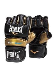 Everlast M/L Everstrike Training Gloves for Men, EVP00000663, Black/Gold
