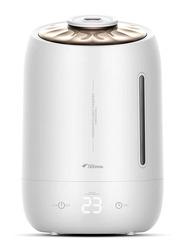 Deerma Mute Ultrasound Capacity Sterilization Humidifier, 5L, F600, White