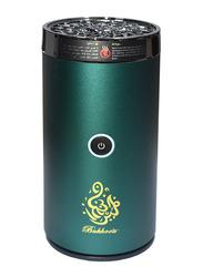 Bukhoor USB Type-C Power Rechargeable Incense Burner, B-50, Green